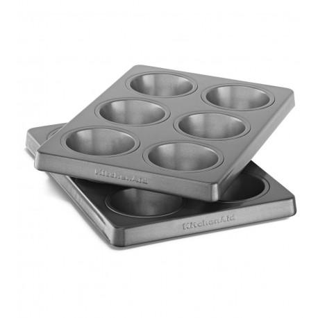 Forma pečící - muffiny - sada 2 forem po 6 ks