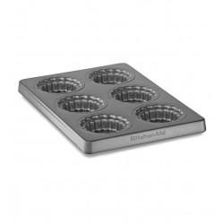 Forma pečící - mini koláče - vyjímatelným dnem