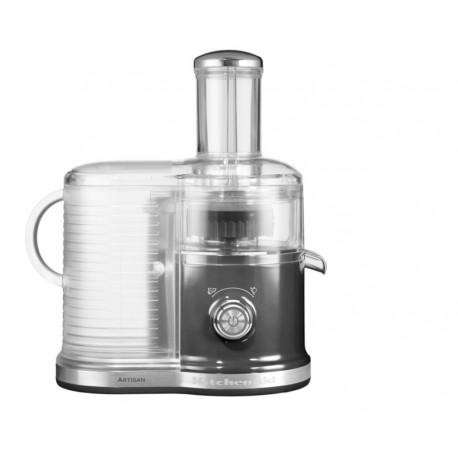 KitchenAid - odstředivý odšťavňovač Artisan - 5KVJ0333 - stříbřitě šedá