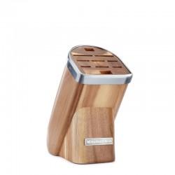 KitchenAid Blok na nože, 10 slotů, přírodní dřevo - světlý akát KKFMA01AA