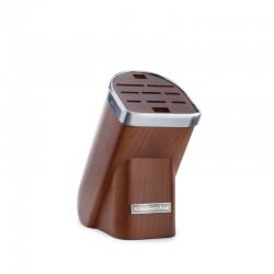 KitchenAid Blok na nože, 10 slotů, přírodní dřevo - tmavý jasan KKFMA01DA