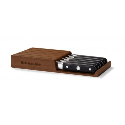 KitchenAid Steakové nože, dřevěný úložný box, 6ks KKFTR06SKWM