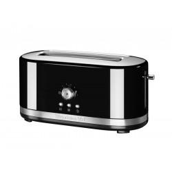 Kitchenaid Toustovač 5KMT4116EOB s manuálním ovládáním a dlouhými otvory - černá