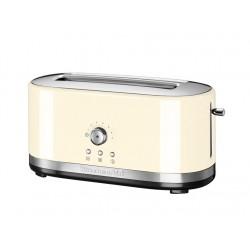 Kitchenaid Toustovač 5KMT4116EAC s manuálním ovládáním a dlouhými otvory - mandlová