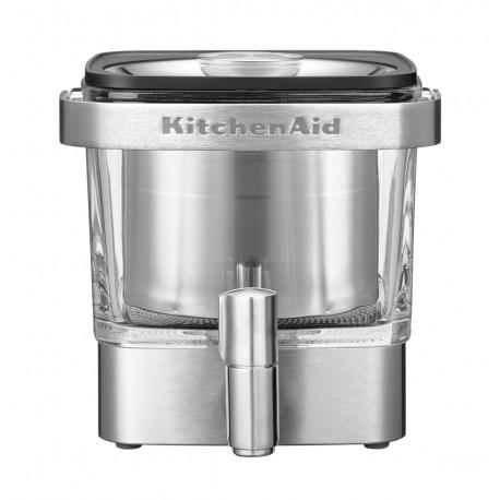 KitchenAid Kávovar na přípravu kávy za studena - broušená nerezová ocel