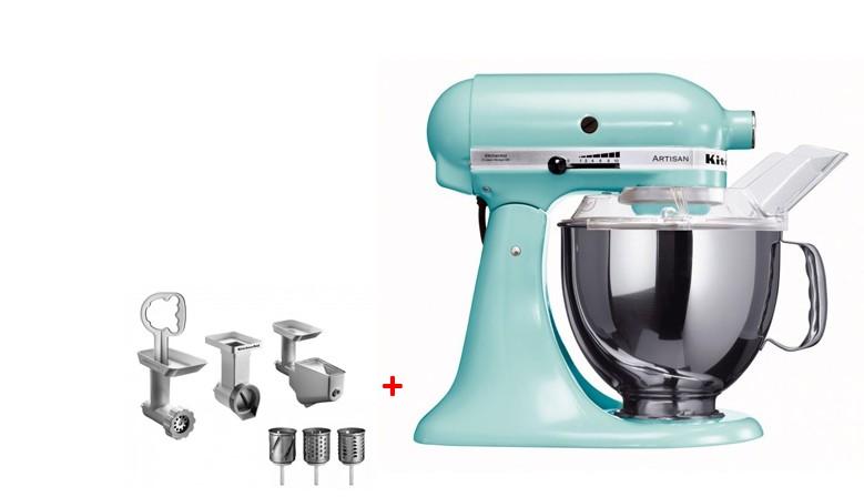 Robot KitchenAid (různé varianty) + balíček s příslušenstvím se slevou 5.000,- Kč