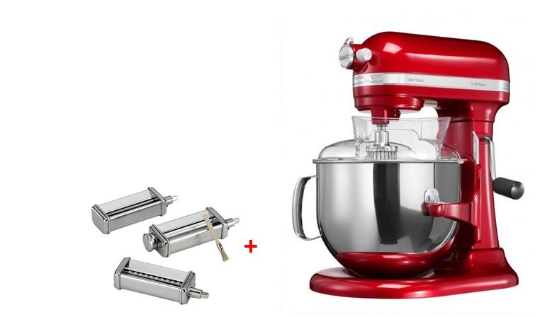 Robot KitchenAid Artisan + strojek na těstoviny za zvýhodněnou cenu