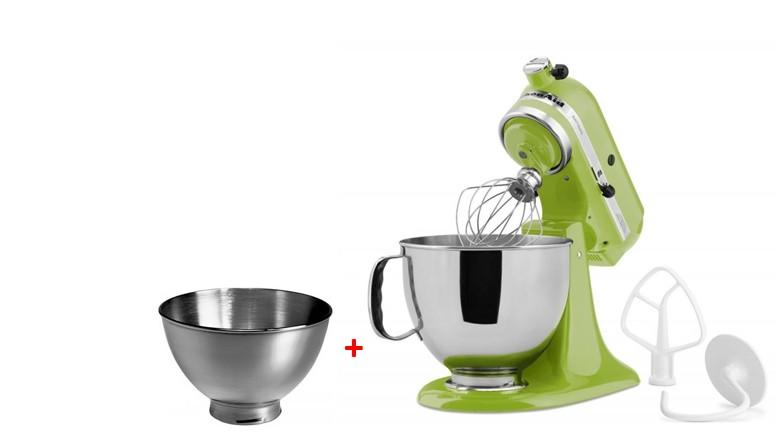 Robot KitchenAid Artisan + 3l nerezová mísa zdarma