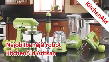 KitchenAid - nejoblíbenější roboty KitchenAid Artisan